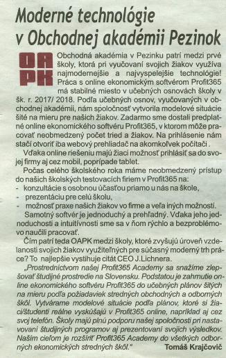 Pezinčan - OAPK
