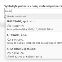 Databáza firiem a organizácii SR a ČR